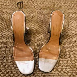 Zara Clear Acrylic Heels